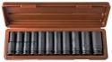 """912511 Набор торцевых ударных глубоких головок 1/2""""DR, 10-24 мм, 11 предметов"""