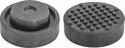 OHT1070 Опора резиновая для подкатных домкратов, D-72 мм, H-32 мм