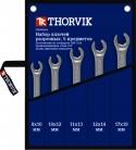 FNWS005 Набор ключей разрезных в сумке 8-19 мм, 5 предметов