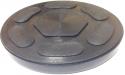 OHT1045 Опора резиновая для подкатных домкратов O-97 мм, Н-11 мм.